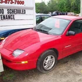 1999 Pontiac Sunfire Coupé