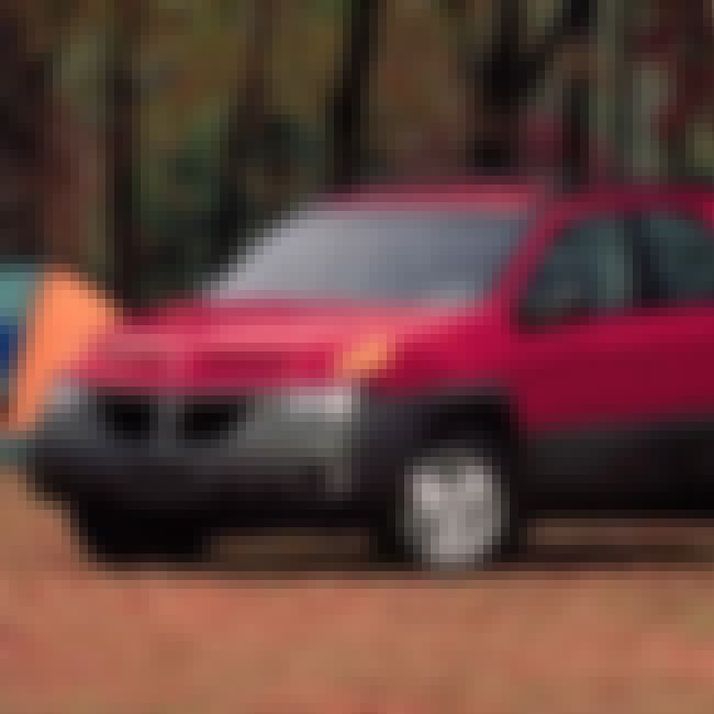2001 Pontiac Aztek SUV AWD is listed (or ranked) 1 on the list List of Popular Pontiac Azteks