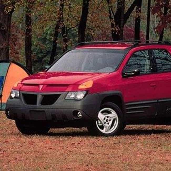 2001 Pontiac Aztek Suv Awd