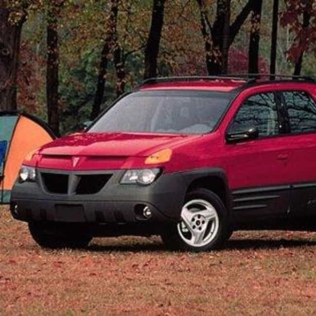 2001 Pontiac Aztek SUV A... is listed (or ranked) 1 on the list List of 2001 Pontiacs
