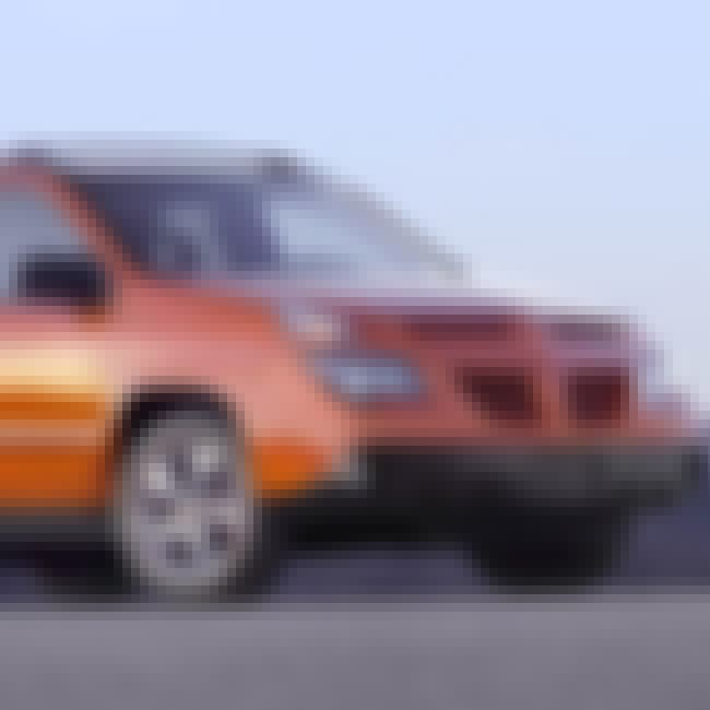 2005 Pontiac Aztek SUV AWD is listed (or ranked) 1 on the list List of 2005 Pontiacs