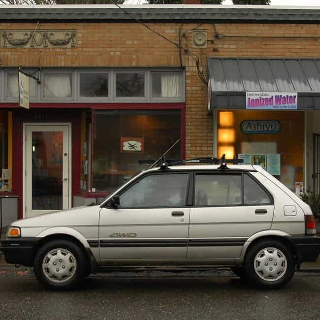 1990 Subaru Justy Hatchb... is listed (or ranked) 1 on the list List of 1990 Subarus