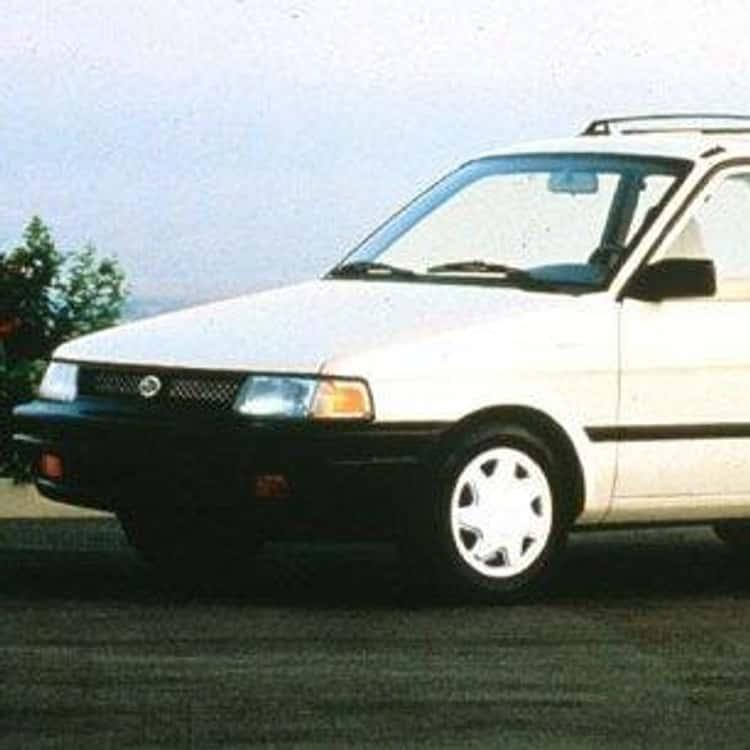 1993 Subaru Justy Hatchback