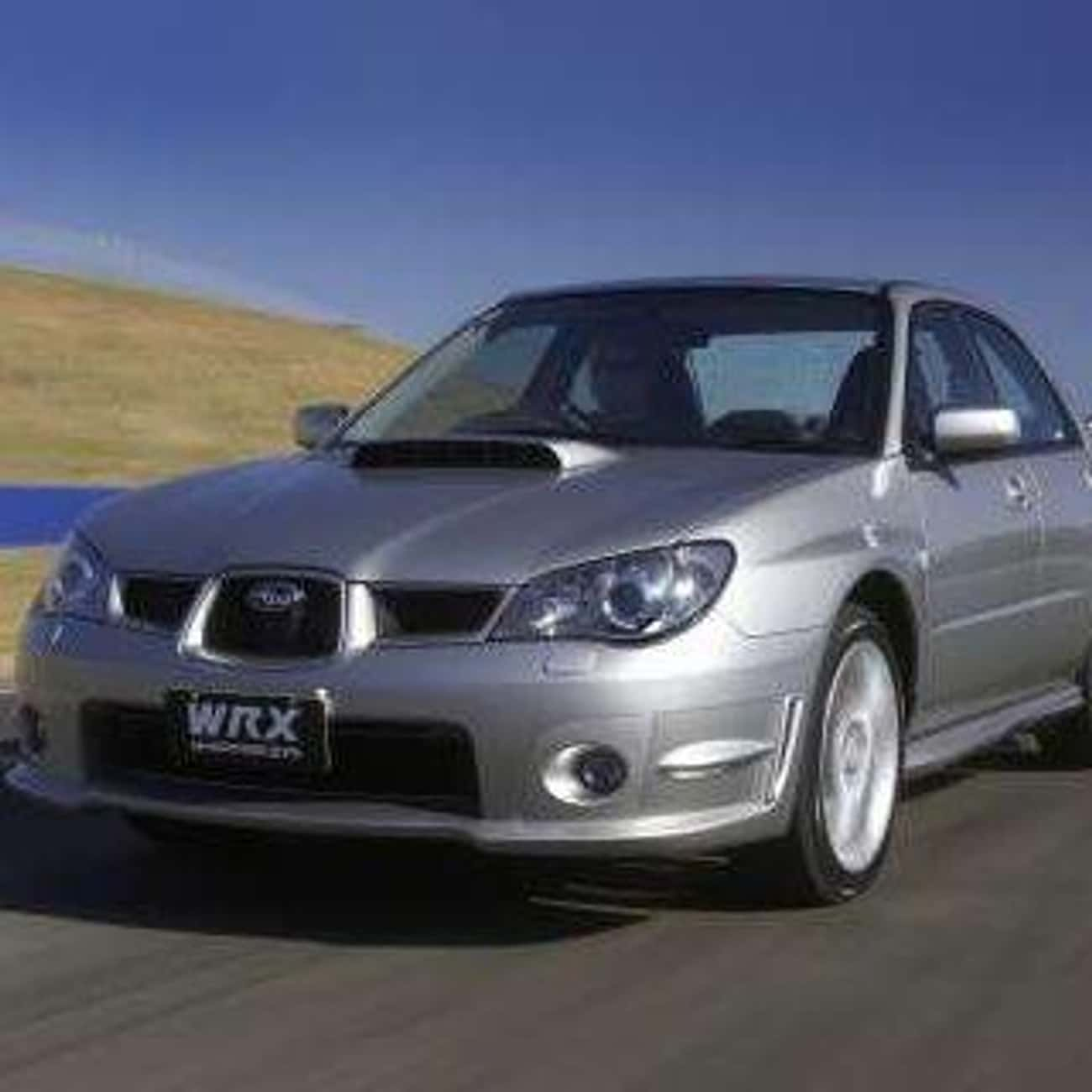 2006 Subaru Impreza Sedan is listed (or ranked) 4 on the list List of 2006 Subarus