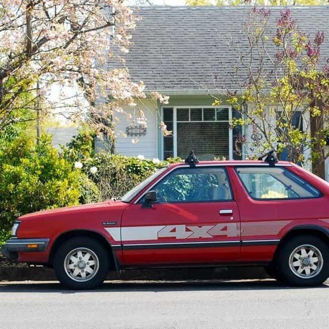 1988 Subaru Hatchback Hatchbac... is listed (or ranked) 1 on the list List of 1988 Subarus