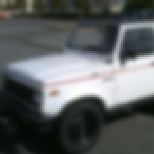 1991 Suzuki Samurai SUV 2WD is listed (or ranked) 1 on the list List of 1991 Suzukis