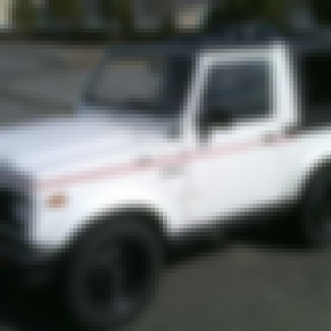 1992 Suzuki Samurai SUV 2WD is listed (or ranked) 1 on the list List of 1992 Suzukis