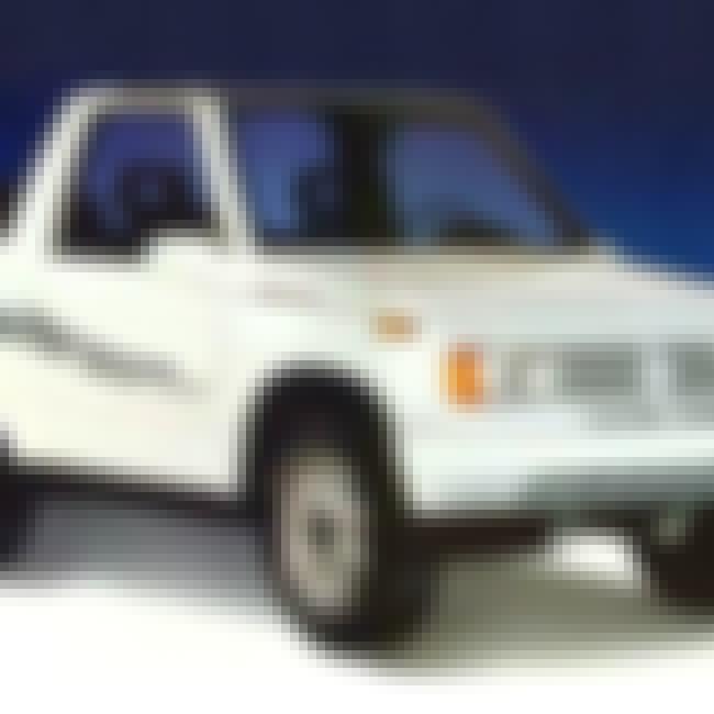 1993 Suzuki Samurai SUV 2WD is listed (or ranked) 1 on the list List of 1993 Suzukis