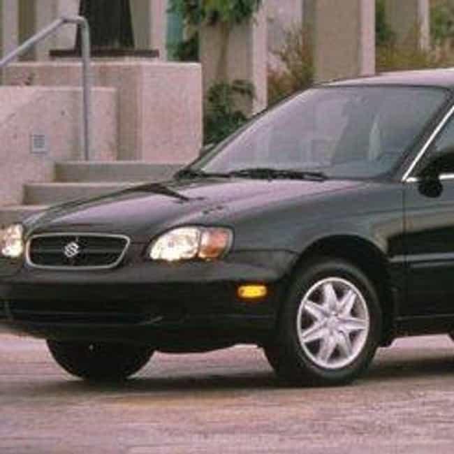 1996 Suzuki Esteem Sedan is listed (or ranked) 2 on the list List of 1996 Suzukis