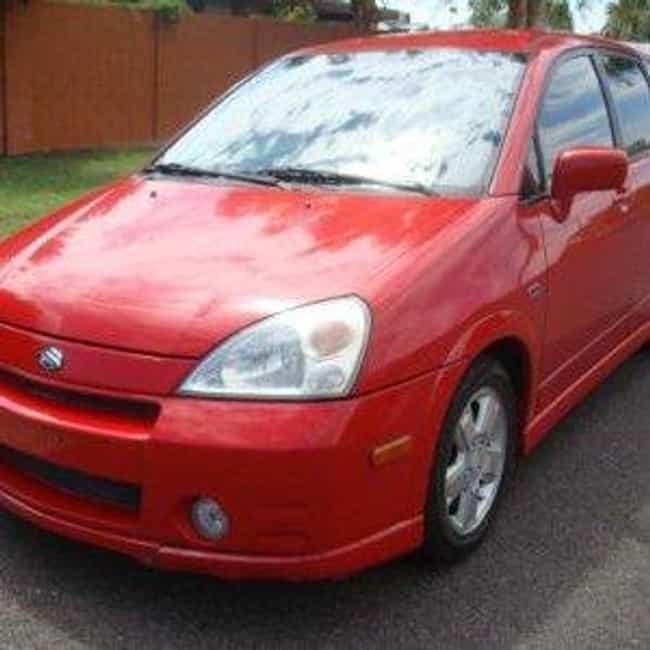 2005 Suzuki Aerio Sedan ... is listed (or ranked) 4 on the list List of 2005 Suzukis