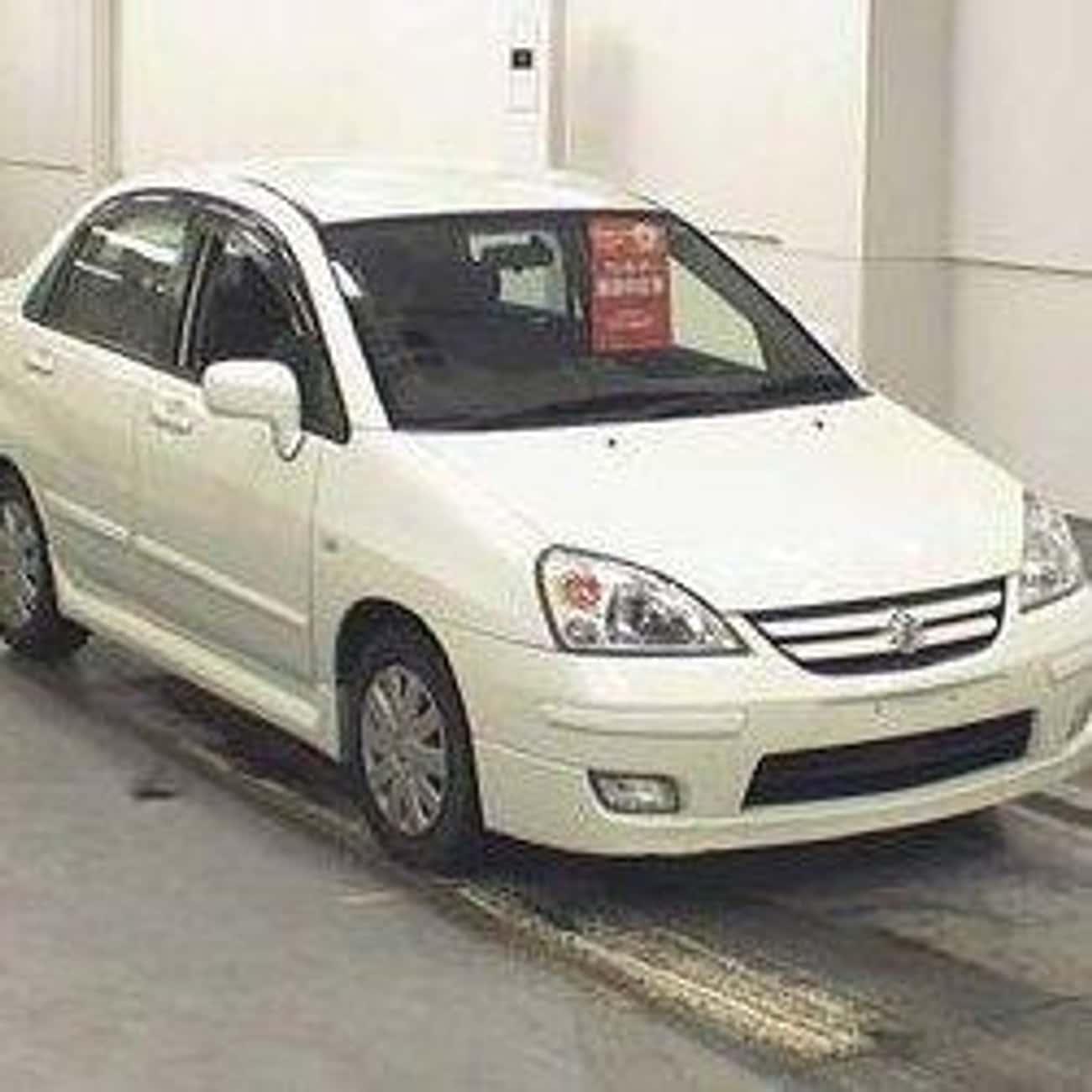 2005 Suzuki Aerio Sedan is listed (or ranked) 2 on the list List of 2005 Suzukis
