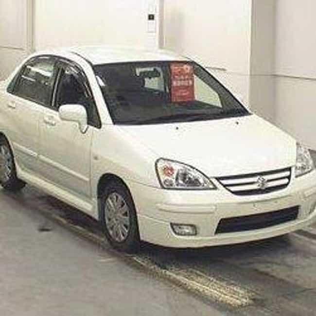 2005 Suzuki Aerio Sedan ... is listed (or ranked) 2 on the list List of 2005 Suzukis