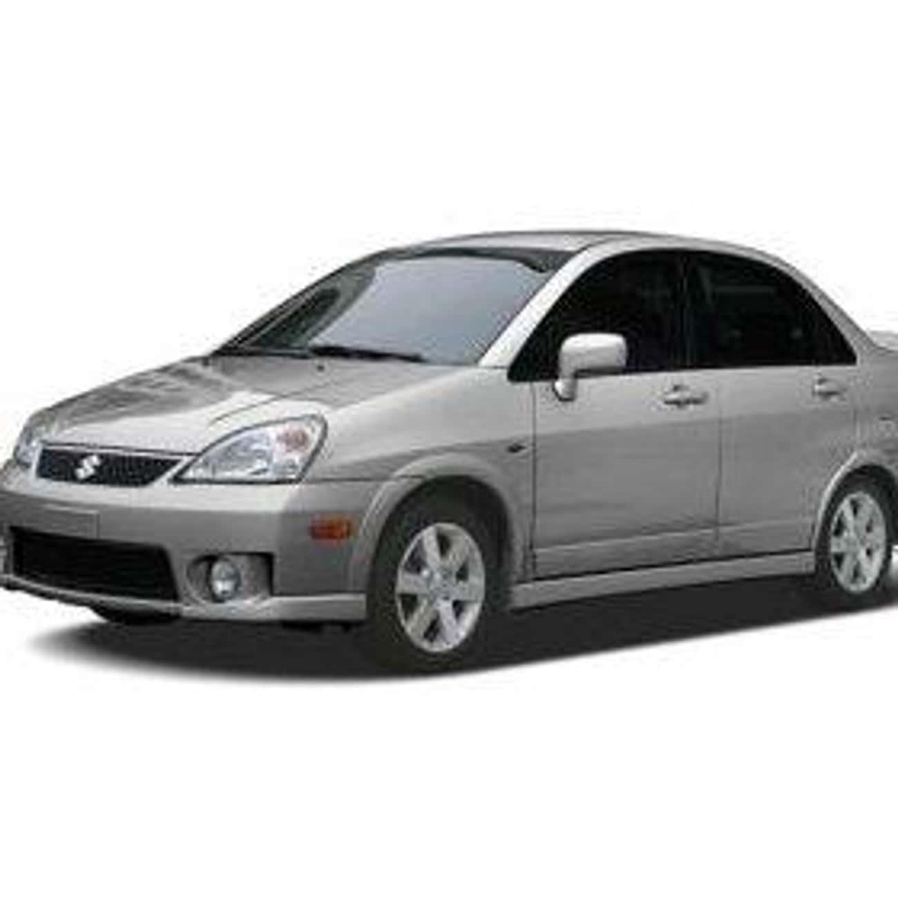 2005 Suzuki Aerio Sedan AWD is listed (or ranked) 3 on the list List of 2005 Suzukis