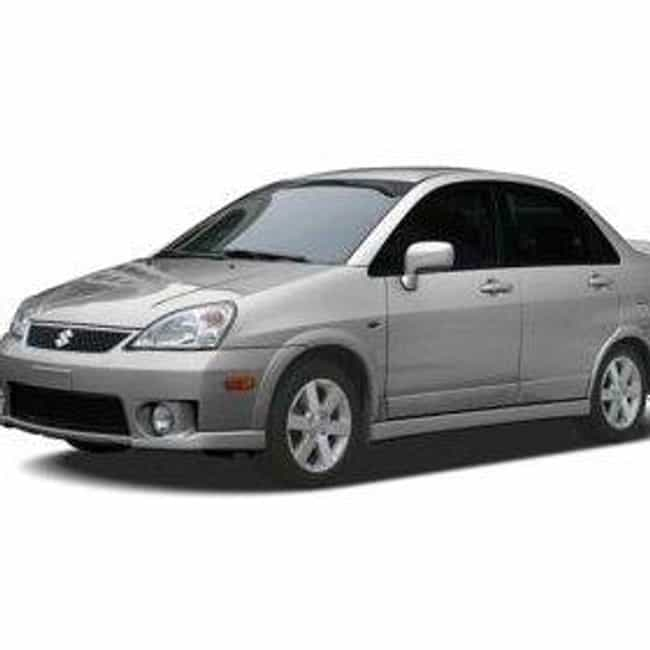 2005 Suzuki Aerio Sedan ... is listed (or ranked) 3 on the list List of 2005 Suzukis