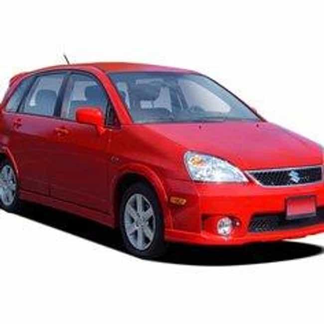 2005 Suzuki Aerio Hatchb... is listed (or ranked) 1 on the list List of 2005 Suzukis