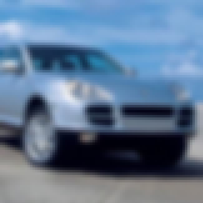 2003 Porsche Cayenne S SUV is listed (or ranked) 1 on the list List of Popular Porsche Cayennes