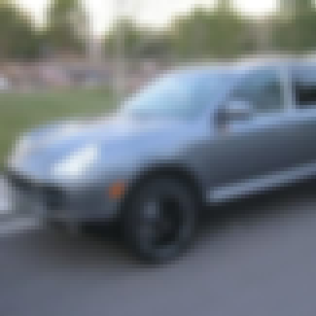 2004 Porsche Cayenne S SUV is listed (or ranked) 3 on the list List of Popular Porsche Cayennes
