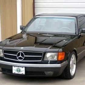 1989 Mercedes-Benz S-Class 560SEC Coupe