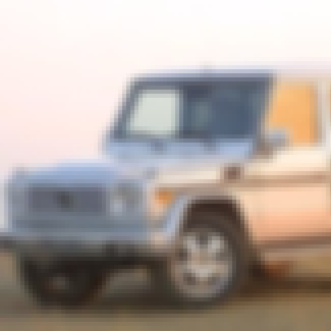 2003 Mercedes-Benz G-Class G55... is listed (or ranked) 3 on the list The Best Mercedes-Benz G-Classes of All Time