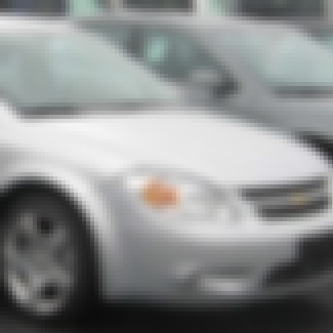 2007 Chevrolet Cobalt Sedan is listed (or ranked) 2 on the list List of Popular Chevrolet Cobalts
