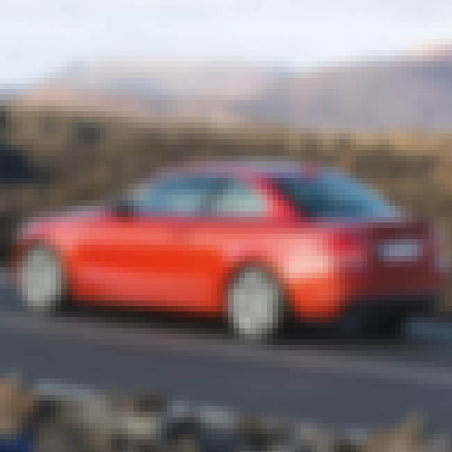 2008 BMW 1 Series Coupé is listed (or ranked) 3 on the list The Best BMW 1 Series of All Time
