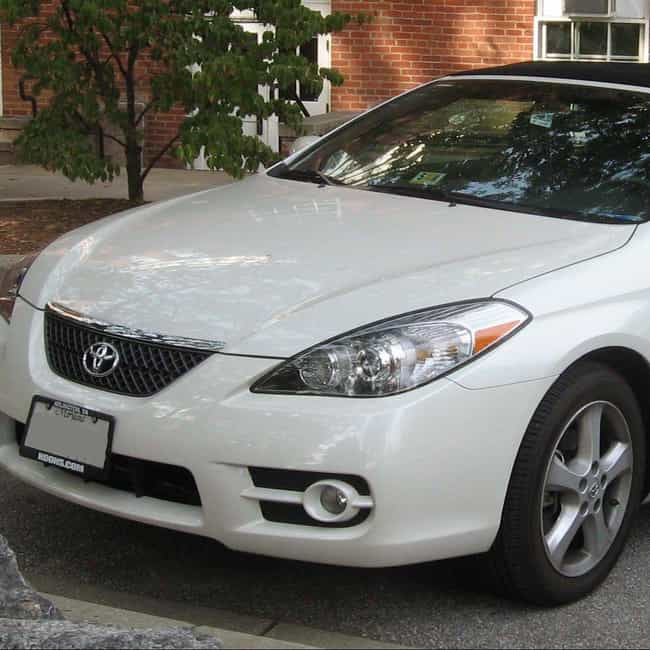 2007 toyota camry solara conve is listed or ranked 4 on