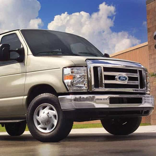 2008 Ford E 150 Van Is Listed Or Ranked 2 On The List