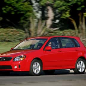 2009 Kia Spectra5 is listed (or ranked) 17 on the list The Best Hatchbacks of All Time