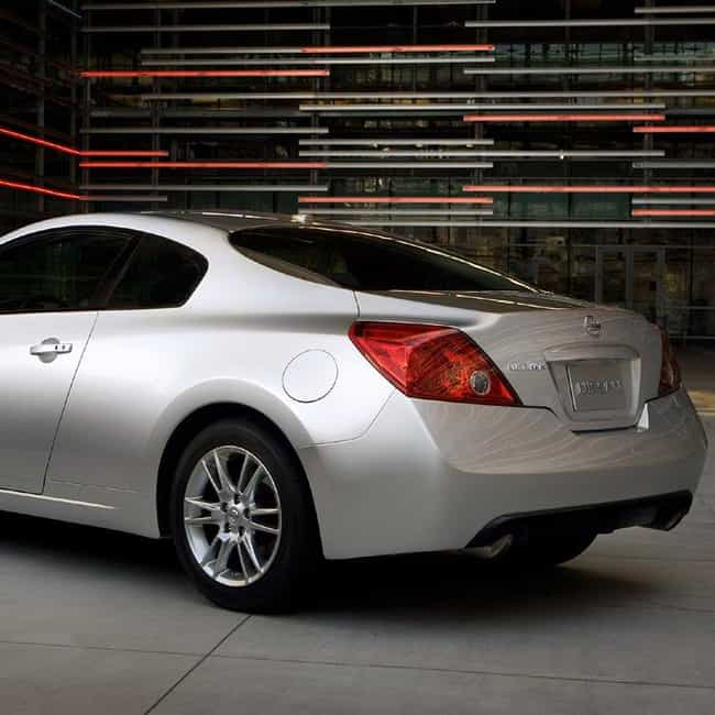 2008 Nissan Altima Coupé is listed (or ranked) 3 on the list List of 2008 Nissans