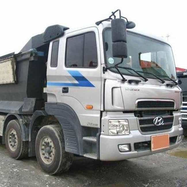 Hyundai 8 to 25-ton truck is listed (or ranked) 1 on the list Full List of Hyundai Motor Company Models