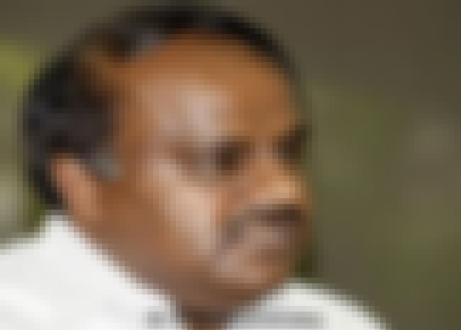 H. D. Kumaraswamy is listed (or ranked) 2 on the list The Best Chief Minister of Karnataka.