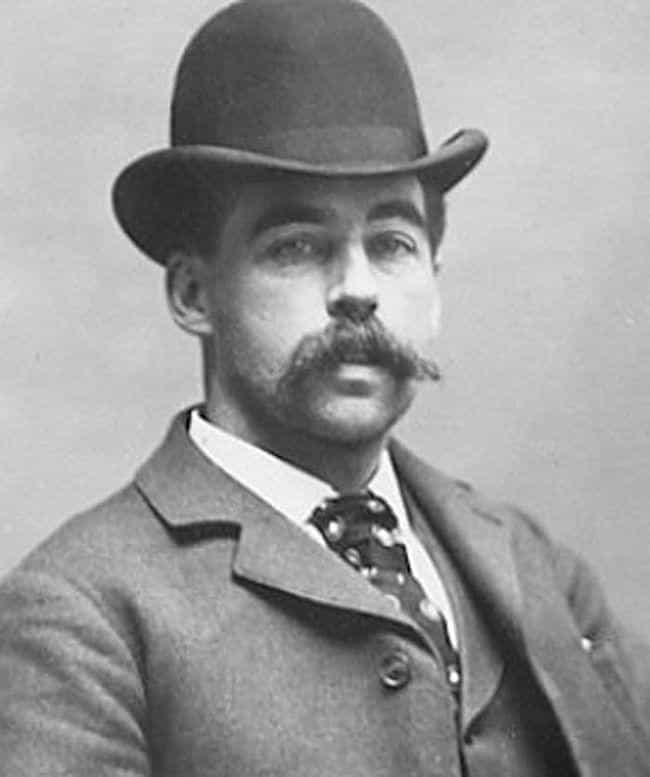H. H. Holmes is listed (or ranked) 2 on the list 28 Serial Killers Who Were Doctors