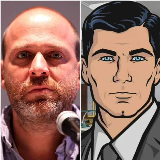 H. Jon Benjamin is listed (or ranked) 2 on the list 18 Voice Actors Who Look Nothing Like Their Characters