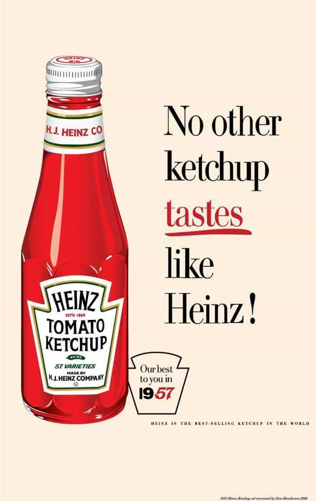 Heinz is listed (or ranked) 4 on the list 15 Things Americans Love That Were Invented by Immigrants