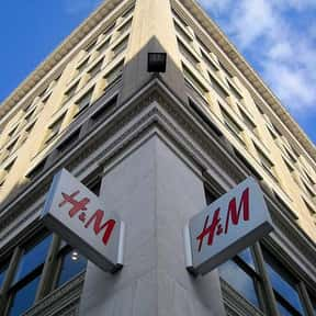 H&M is listed (or ranked) 14 on the list The Best Clothing Brands For Teenagers