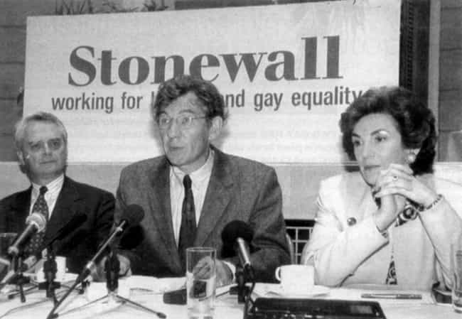 Ian McKellen is listed (or ranked) 2 on the list 11 Gay Celebrities Who Came Out in the 1980s