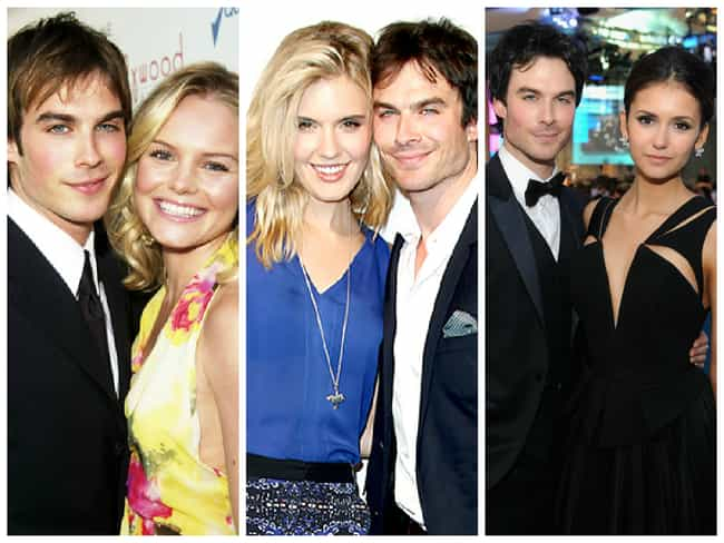Ian Somerhalder is listed (or ranked) 2 on the list Celebrities Who Frequently Date Their Co-Stars