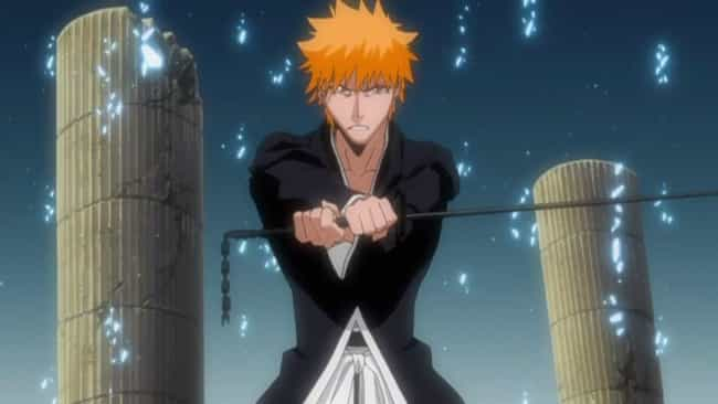 Ichigo Kurosaki is listed (or ranked) 3 on the list 15 Anime Characters Who Prove Dark Isn't Necessarily Evil