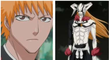 Bleach's Ichigo Kurosaki is listed (or ranked) 1 on the list The 16 Most Extreme Transformations In Anime History