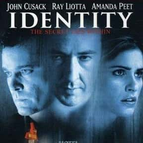 Identity is listed (or ranked) 20 on the list The Best Mystery Thriller Movies, Ranked