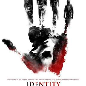 Identity is listed (or ranked) 4 on the list The Best Horror Movies Set in Hotels