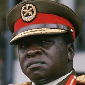 Idi Amin is listed (or ranked) 12 on the list List of Famous Dictators