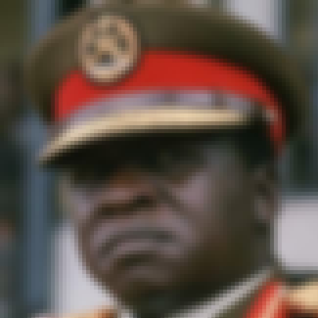 Idi Amin is listed (or ranked) 3 on the list Celebrities Born On New Year's Day