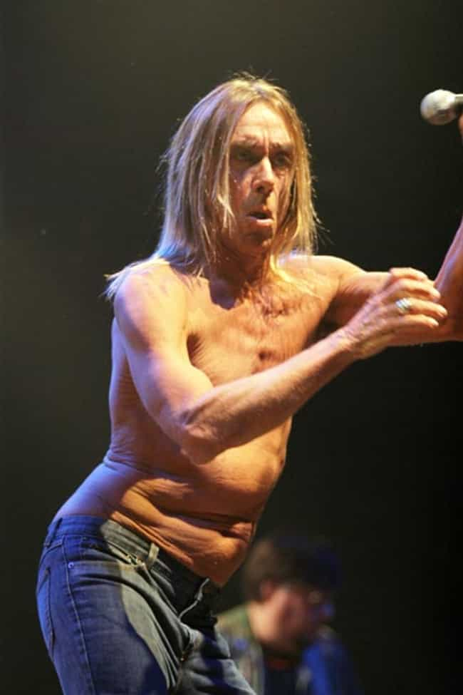 Iggy Pop is listed (or ranked) 4 on the list Pure UGLIEST Celebrities?!