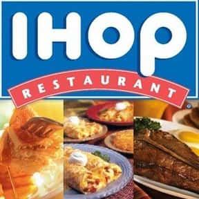 IHOP is listed (or ranked) 24 on the list The Best American Restaurant Chains