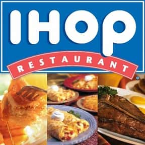 IHOP is listed (or ranked) 5 on the list The Best Family Restaurant Chains in America