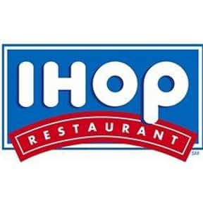 IHOP is listed (or ranked) 9 on the list The Best Bar & Grill Restaurant Chains