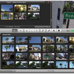 iMovie is listed (or ranked) 22 on the list List of Video Editing Software