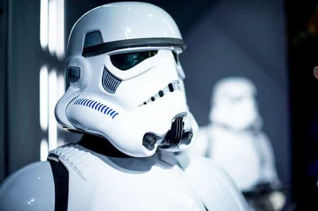 Stormtrooper is listed (or ranked) 4 on the list The Most Iconic Masks in Movie History
