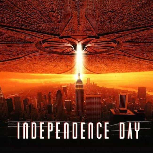 Independence Day is listed (or ranked) 3 on the list Special Effects We Wish Were Real